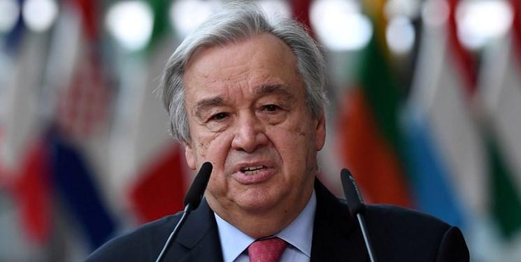 دبیرکل سازمان ملل خواستار رفع همه تحریمهای آمریکا علیه ایران طبق برجام شد