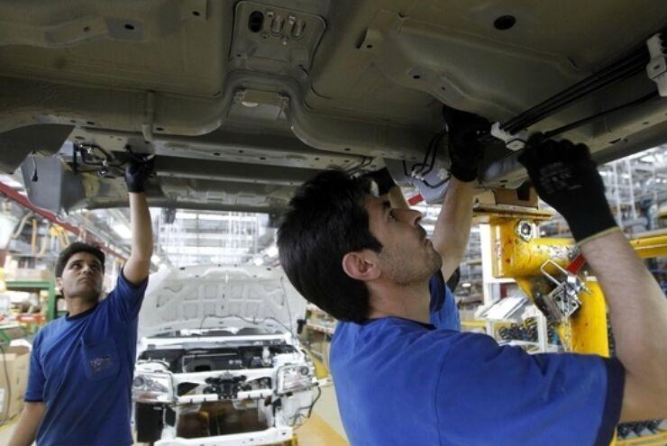 عبور تولید خودروسازان از مرز ۳۴۵ هزار دستگاه