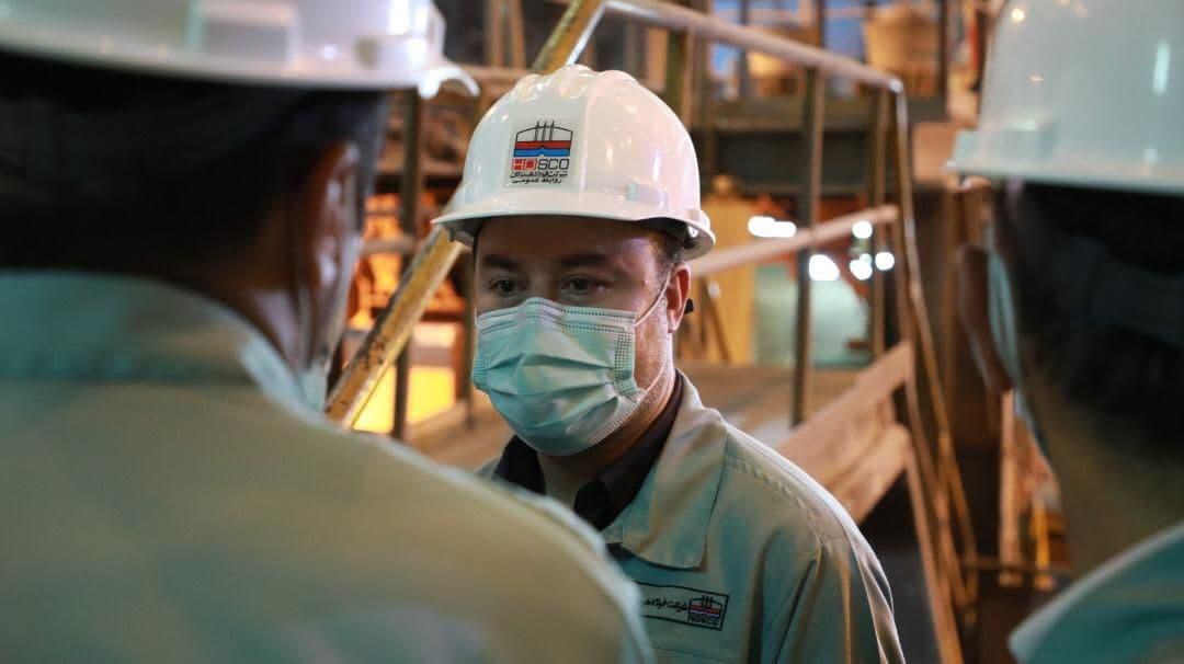 مدیرعامل فولاد هرمزگان: ما می توانیم را در فولاد هرمزگان تحقق می بخشیم