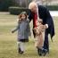 بازیگوشی نوه های ترامپ در کاخ سفید... / تصاویر