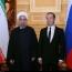 دیدار رییس جمهور ایران و نخست وزیر روسیه / دکترای افتخاری دانشگاه دولتی مسکو به روحانی اعطا می شود