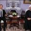 دیدار دکتر حسن روحانی با نخست وزیر روسیه به روایت تصاویر