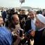 روحانی وارد نیویورک شد / رییس جمهور در فرودگاه جان. اف. کندی: می خواهیم تعامل گسترده با جهان داشته باشیم