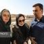 حضور سینماگران زن در مناطق زلزله زده کرمانشاه (تصاویر)