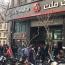 تشکیل صف خرید دلار در چهار راه استانبول