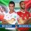 نتیجه بازی ایران و مراکش: صفر، صفر تا بدین لحظه