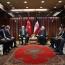 روحانی در دیدار با اردوغان: ایران از حضور سرمایه گذاران ترکیه ای در کشور استقبال می کند