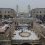 جدیدترین تصاویر ازخدمترسانی به زائران اربعین در صحن حضرت زهرا (س)
