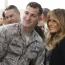 همسر رئیس جمهور آمریکا در پایگاه هوایی لنگلی