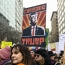 تظاهرات زنان علیه ترامپ در آغاز سومین سال فعالیت دولت او به روایت تصاویر