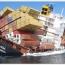 یک کشتی تجاری پای اسکله بندر شهید رجایی غرق شد
