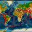 نقشه جهانی پهنهبندی خطر زلزله منتشر شد