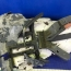 نمایش قطعات پهپاد شکارشده آمریکایی توسط سپاه پاسداران