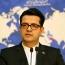 سخنگوی وزارت خارجه: مشاور مکرون دوباره به تهران می آید