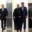 سومین دیدار روحانی، پوتین و علی اف