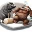 «پُتک گاوها بر سر خرسها !!»